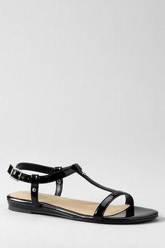 fd0b292543aa82 Women s+Naomi+Flat+T-strap+Sandals+from+Lands