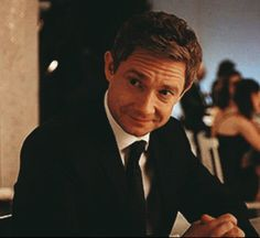 Shut up Lester.  I love you. You sexy murdering dork. Martin Freeman as Lester Nygaard in FX Fargo @mrswoo
