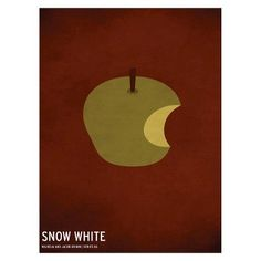 Trademark Global Snow White Unframed Wall Canvas