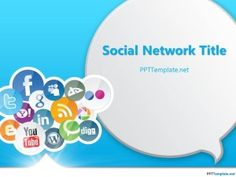 Free Social Media PPT Template2