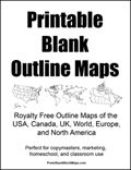 Printable Blank Maps-this will be great! Amdon is learning the states now. Map, World Map Printable, Teaching Social Studies, Education, Homeschool Social Studies, Homeschool History, Homeschool Geography, Teaching, Teaching Geography
