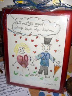 geld geschenk in kader, trouwen