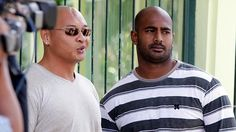 Not a club you want to join ... Myuran Sukumaran and Andrew Chan look set to soon join th