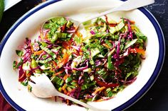 Thai slaw cabbage