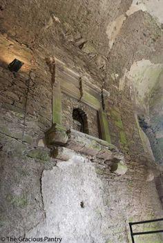 Blarney Castle, Blarney Ireland.  The second floor fireplace, sans floor.  #ireland #irish