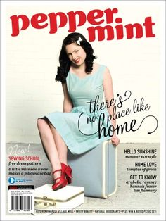 Peppermint Magazine - vintage organic recycled fair trade sustainable fresh. green. fashion.