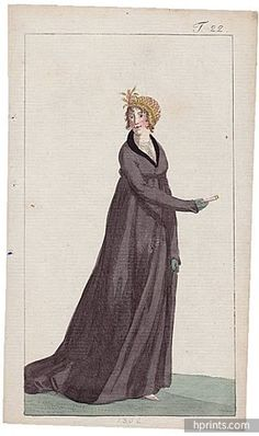 Journal des Luxus und der Moden 1802 n°22 Published in Weimar Fashion