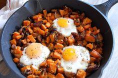 Use GF sausage! Breakfast Sweet Potato Hash   Paleo Grubs