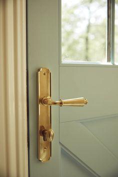 pub farm project home school Vintage solid brass window handle