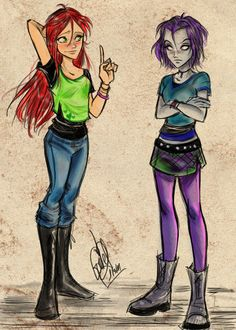 Kori and Rach by gretlusky on deviantART