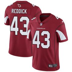 Nike Cardinals #43 Haason Reddick Red Team Color Men's Stitched NFL Vapor Untouchable Limited Jersey