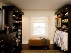 Lighting ideas for your closet.