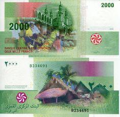 2000 Francs  UNC Banknote