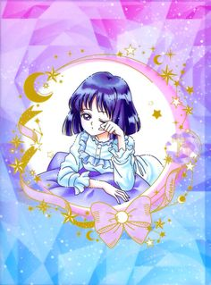Sailor Moon Stars, Sailor Saturn, Anime Toys, Sailor Scouts, I Love Anime, Magical Girl, Friends In Love, Painting Inspiration, Game Art