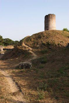 Via Appia Antica in Rome, Italy
