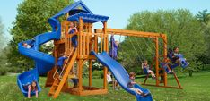 Shop the Captain's Castle, and many more outdoor living products from Wood Kingdom West, today! Wood Kingdom, Painted Playhouse, Wall Ladders, Wood Swing Sets, Swing Set Accessories, Cedar Stain, Rubber Mulch, Vinyl Trim, Wood Mulch