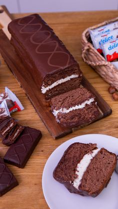 Hausgemachte Kinder Delight XXL - Lassen Sie sich von unserer hausgemachten Kinder Délice in der XXL-Version verwöhnen! Summer Dessert Recipes, Summer Desserts, Sweet Recipes, Cake Recipes, Snack Recipes, Healthy Recipes, Food Cakes, Snacks Saludables, Homemade Cakes