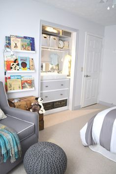 Changing Table In Closet Design Ideas, Pictures, Remodel and Decor