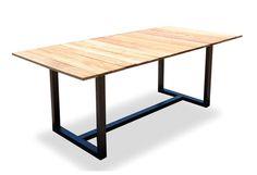 Coast Dining Table U - modern - outdoor tables - los angeles - Viesso Modern Outdoor Decor, Modern Table, Outdoor Dining Furniture, Outdoor Tables, Custom Furniture, Modern Furniture, Dining Table In Kitchen, Dining Tables, Furniture Making