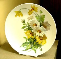 One fire daisies | ARTchat - Porcelain Art Plus (formerly Chatty Teachers & Artists)