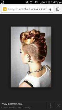 Mohawk pin up