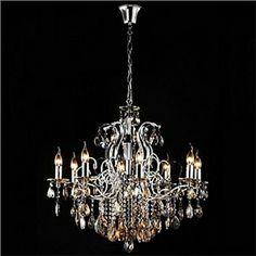 Ceiling Lights - Chandeliers - Crystal Chandeliers - Luxuriant Crystal Chandelier with 8 Lights
