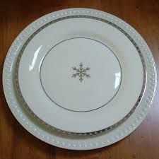 white christmas plates - Google Search