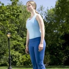 Start Chi Walking to Lose Weight | 2. Engage your abs | AllYou.com
