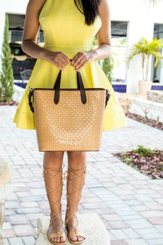 Vacation outfit details! Love this dress. Link here: https://www.shopthemint.com/products/dancing-queen-dress-yellow?utm_source=Blog%20Collab&utm_medium=Stylishly%20In%20Love&utm_campaign=Blog%20Collab