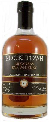 Rock Town Arkansas Rye Whiskey 46% 75cl Small Batch - Hand Crafted. Arkansas Rye Whiskey is an Arkansas first. Rye whiskey distilled from rye grain actually grown in Arkansas, distilled in a copper potstill, aged and bottled in the Rock Town distillery in Little Rock. Rum Bottle, Liquor Bottles, Whiskey Bottle, Good Whiskey, Bourbon Whiskey, Whisky, Rye Grain, Bourbon Drinks, Whiskey Glasses