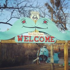 Blue whale, catoosa, Oklahoma, route 66 Route 66 Oklahoma, Historic Route 66, Tourist Sites, Tourist Trap, Route 66 Road Trip, Chicago Travel, Roadside Attractions, Blue Whale, Weird And Wonderful