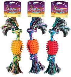 Spunkeez Rope with Vinyl Spiked Ball Case Pack 24