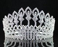 Janefashions Floral Full Crown Clear Austrian Rhinestone Crystal Tiara Pageant Prom Lg T1406 Tiara http://www.amazon.com/dp/B00QLCBVVI/ref=cm_sw_r_pi_dp_v12-ub1NNFCY4