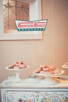 Doughnuts as cake!