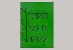 graphic designer gareth hague - PRADA SS2011 invite