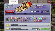 CLASH OF CLANS - MEU PERFIL E DETALHES