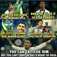 That you should know about #CR7