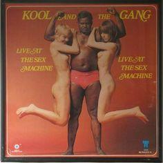 album covers 1970  Kool and the Gang...wowsa!