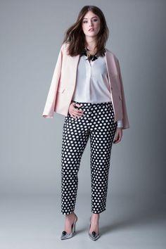 Printed Kady Pant | Women's Plus Size Fashion | ELOQUII