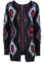 Pletený sveter Výnimočný dlhý pletený • 13.99 € • bonprix