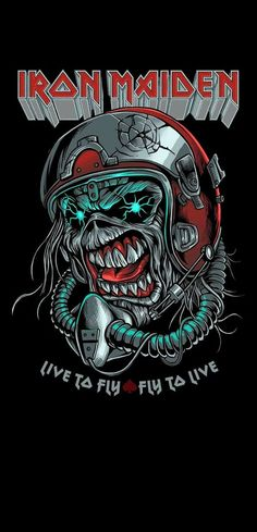 Iron Maiden Cover, Iron Maiden Band, Eddie Iron Maiden, Metal Band Logos, Metal Bands, Iron Maiden Mascot, Iron Maiden Posters, Iron Maiden Albums, Eddie The Head
