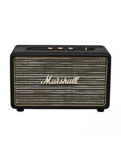 Marshall Acton Bluetooth Speaker (Vintage Black Vinyl) #experienceheadphones #marshallspeakers