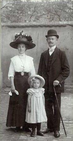 An Edwardian family portrait
