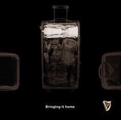 国際ラグビー大会での母国の偉業を称える、ギネスの巧妙な広告 | AdGang
