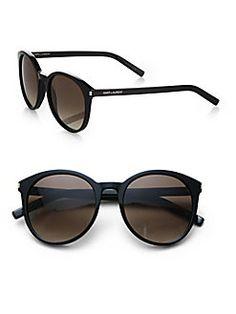 b8aa1b63c9 Saint Laurent - Classic Oversized Round Sunglasses Oversized Round  Sunglasses