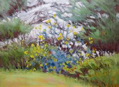 Artists Of Texas Contemporary Paintings and Art - Jimmy Longacre_Texas impressionist landscape paintings_RAINY DAY COLOR