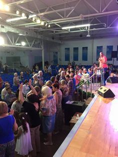 People ministering to each other. 9.3.15