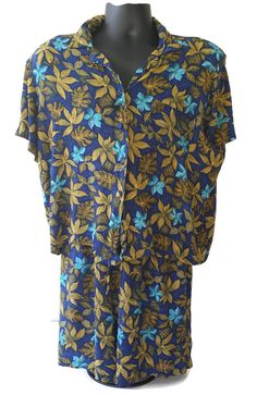 Hey, I found this really awesome Etsy listing at https://www.etsy.com/listing/198620832/womens-hawaiian-shirt-and-shorts-set