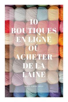 Tricot : 10 boutiques en ligne où trouver de la super laine - Marie Claire Idées