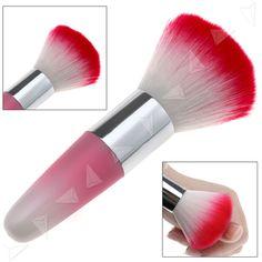 Pink Nail Art Dust Cleaner Brushes Tool For Acrylic UV Gel Powder Remover Kit #UnbrandedGeneric
